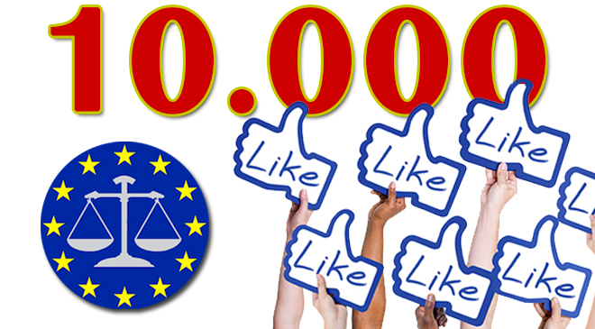Superati 10.000 Like su Facebook: La corsa continua ……